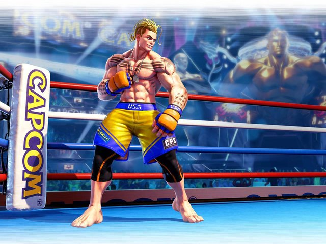 Brand new character Luke is coming to Street Fighter 5 in November and Capcom says he offers a 'glimpse into the future' with Street Fighter 6 on the way in 2022